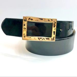 Vintage Oscar de la Renta Leather Belt
